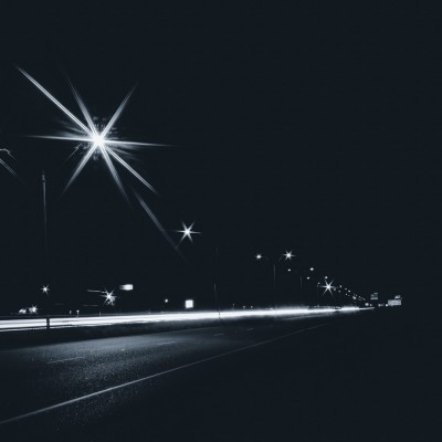 Road Lights At Night Hd Wallpaper Instagram Profile Picture