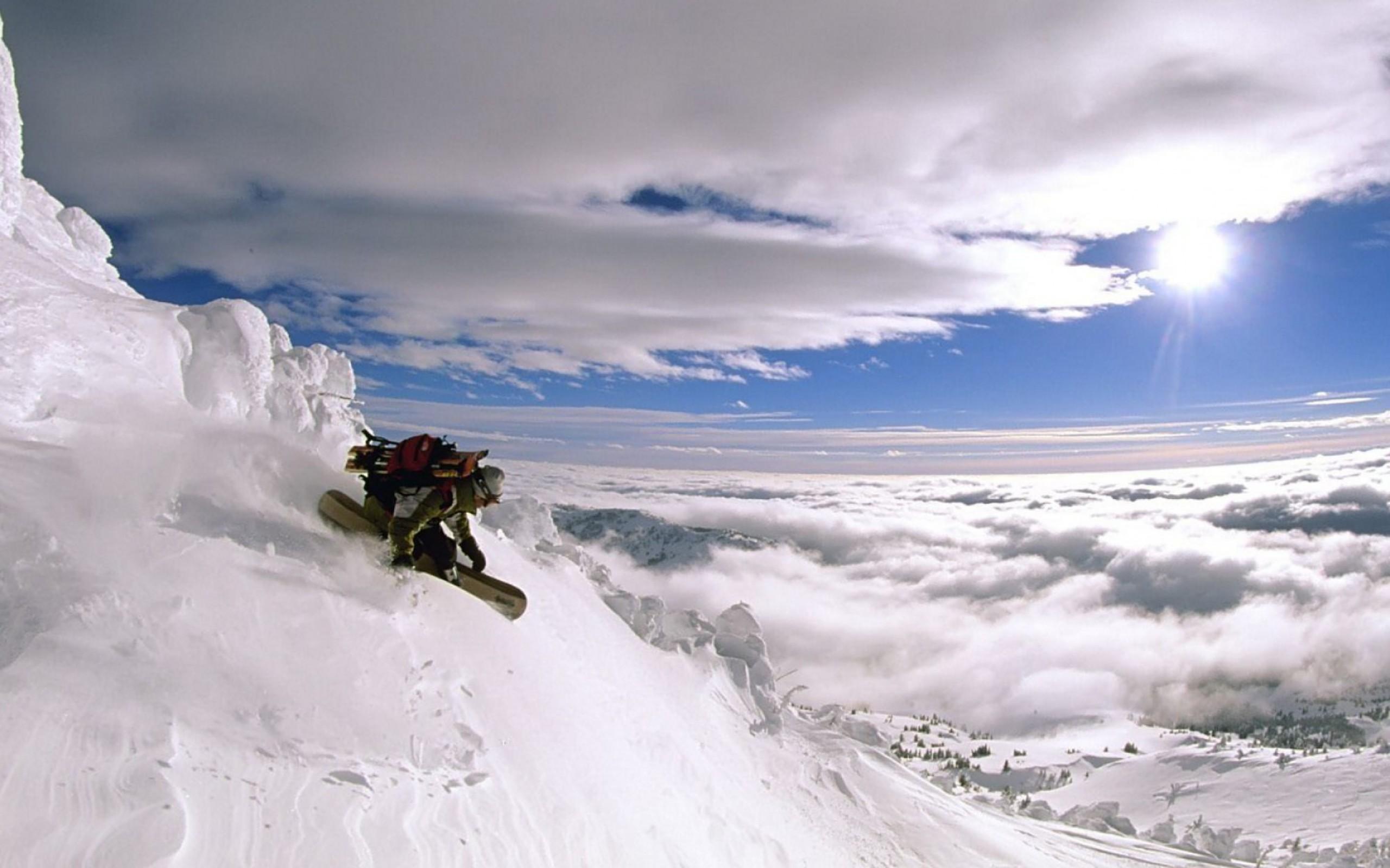 Snowboarding On Top Of The World Hd Wallpaper 13 Retina Macbook Pro Hd Wallpaper Wallpapers Net