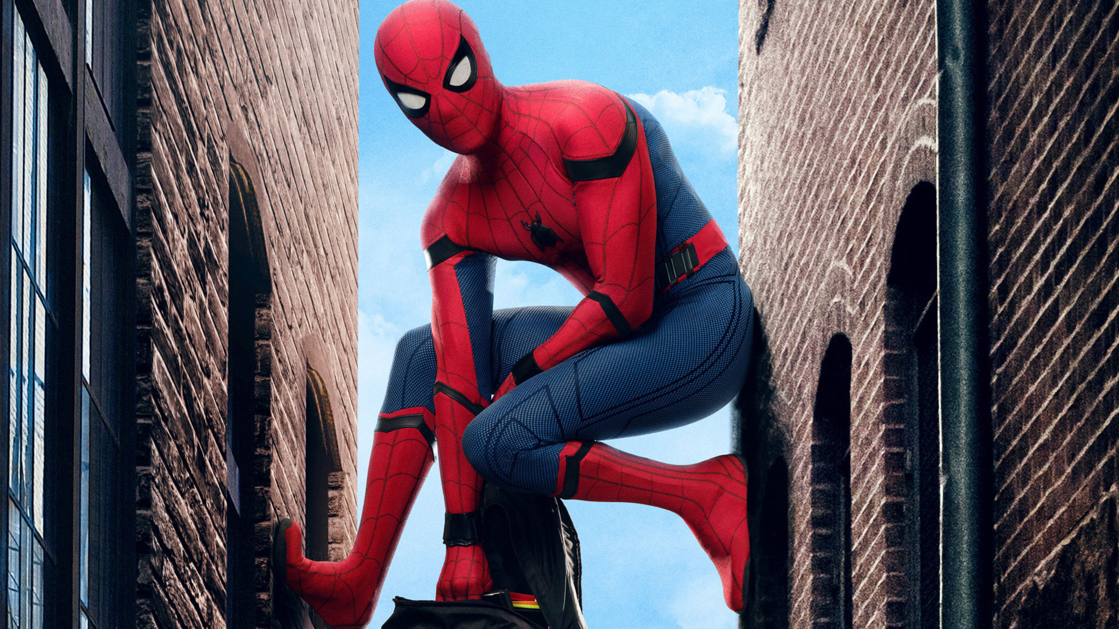 Spiderman Homecoming Movie Hd Wallpaper For Desktop And
