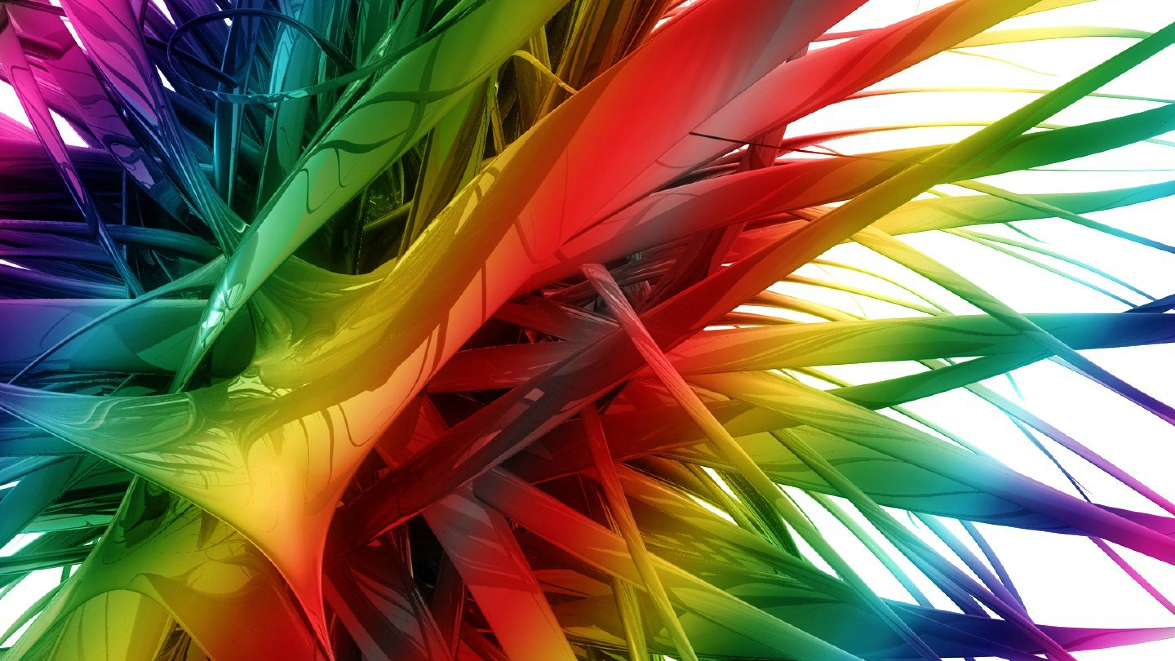 Spikes Coloured Wallpaper For Desktop And Mobiles 4k Ultra Hd Hd