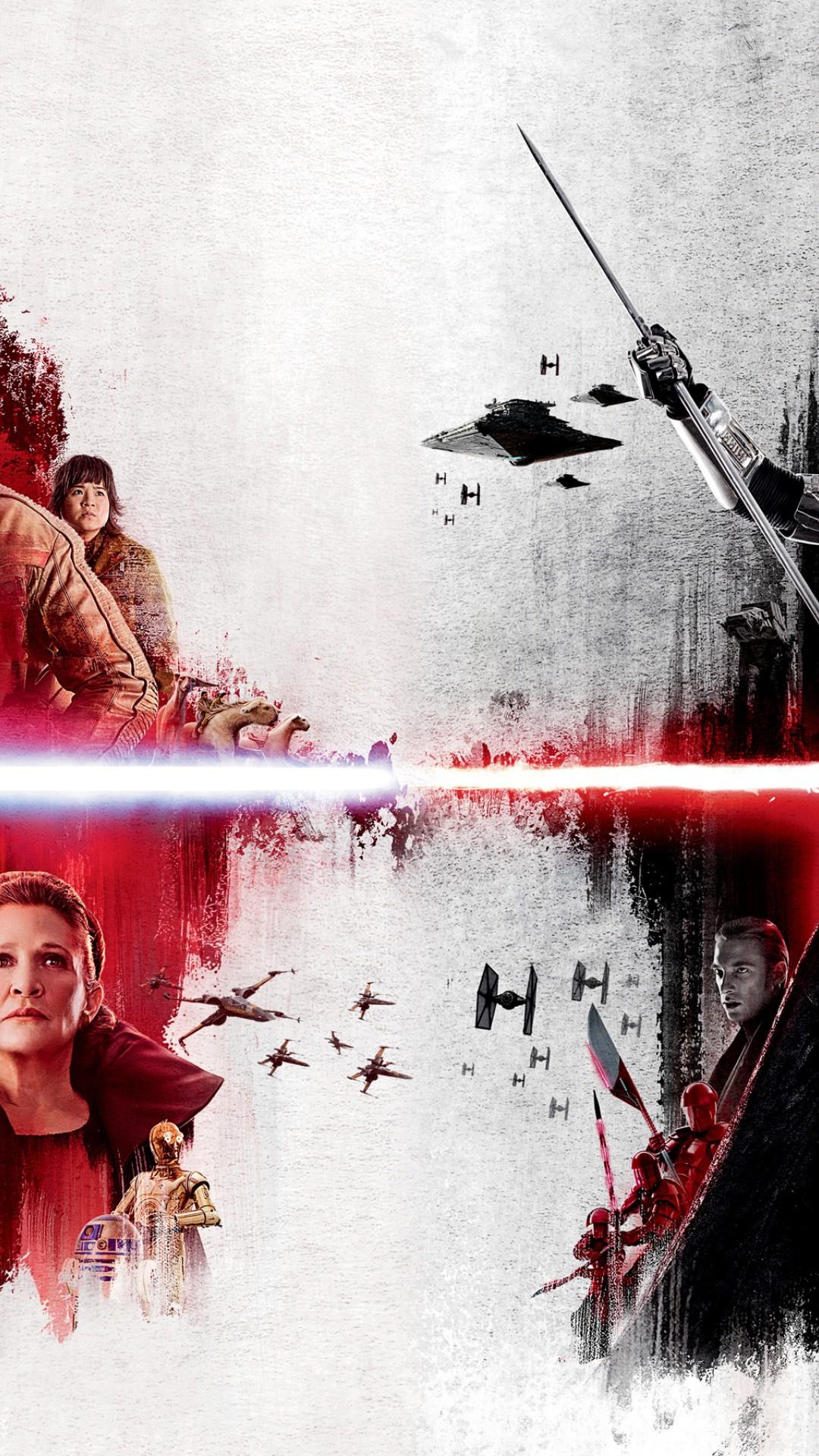 Star Wars The Last Jedi Hd Wallpaper For Desktop And Mobiles