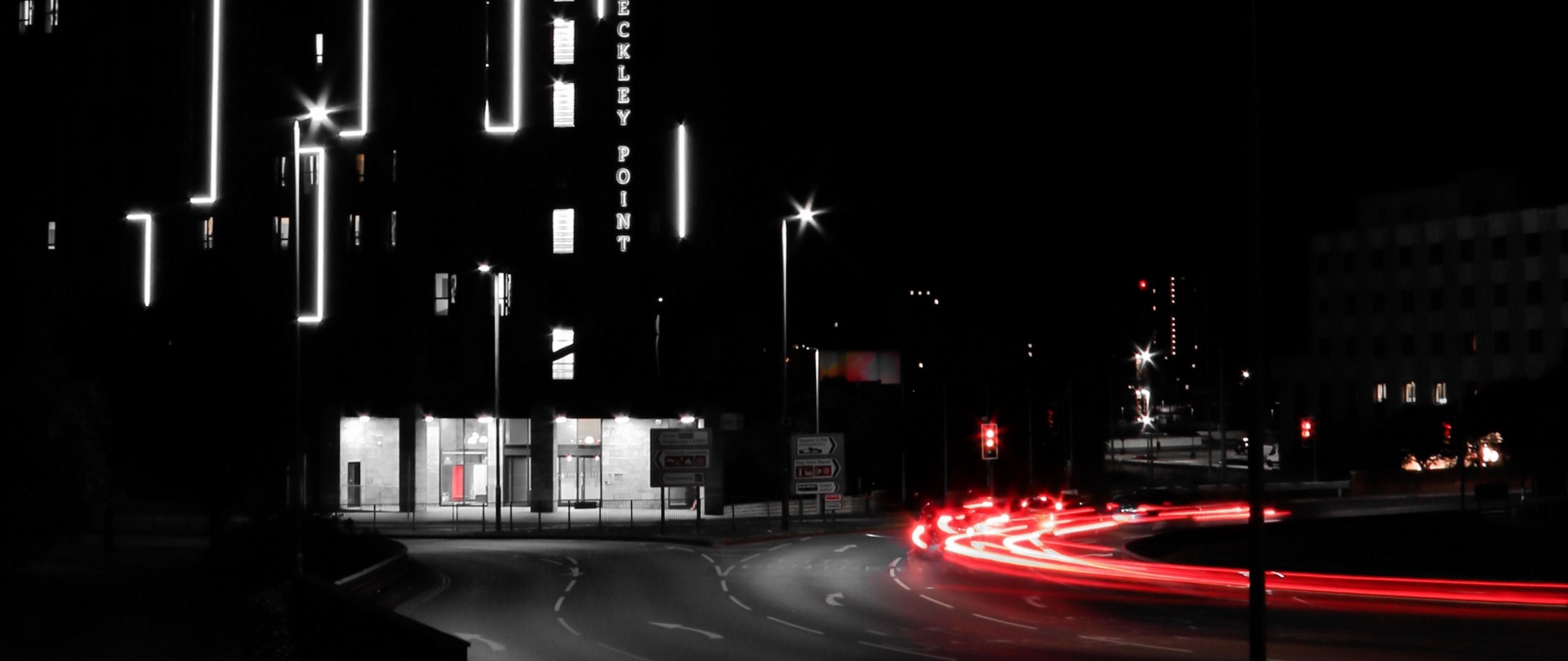 Street Light At The City Hd Wallpaper 4k Ultra Hd Wide Tv