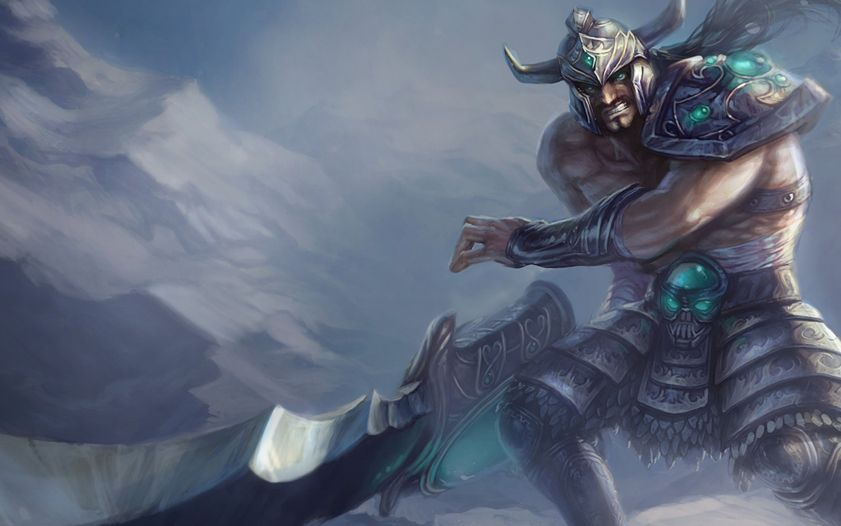 Tryndamere League Of Legends Animated Wallpaper For Desktop And Mobiles 1680x1050 Hd Wallpaper Wallpapers Net
