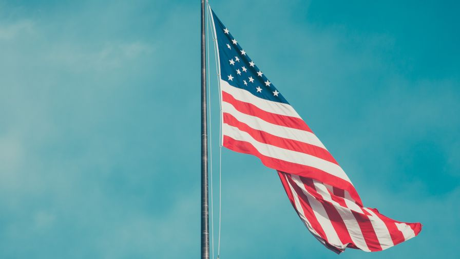 American Flag Background Hd Wallpaper For Desktop And Mobiles