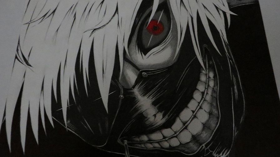 Anime Ken Kaneki Tokyo Ghoul Wallpaper for Desktop and Mobiles
