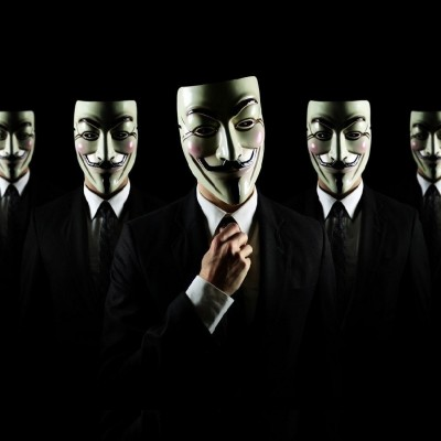 Anonymous Background Hd Wallpaper for Desktop and Mobiles