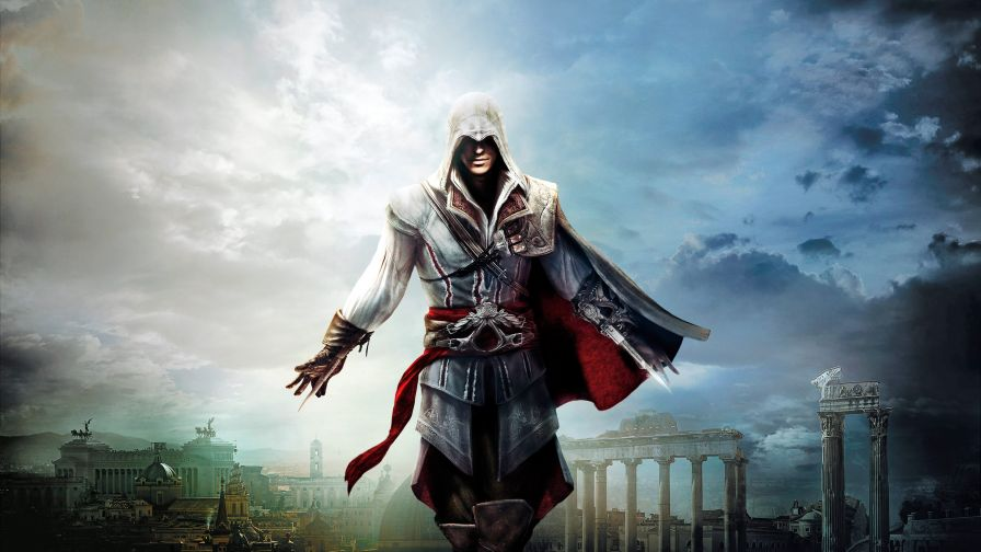 Assassin's Creed Ezio Hd Wallpaper for Desktop and Mobiles