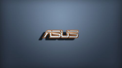 Asus minimalistic logo HD Wallpaper