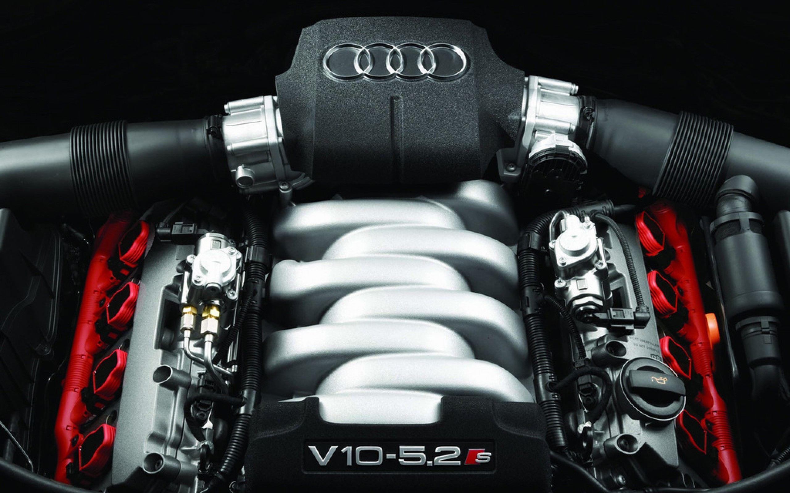 Audi V10 Engine Hd Wallpaper for Desktop and Mobiles