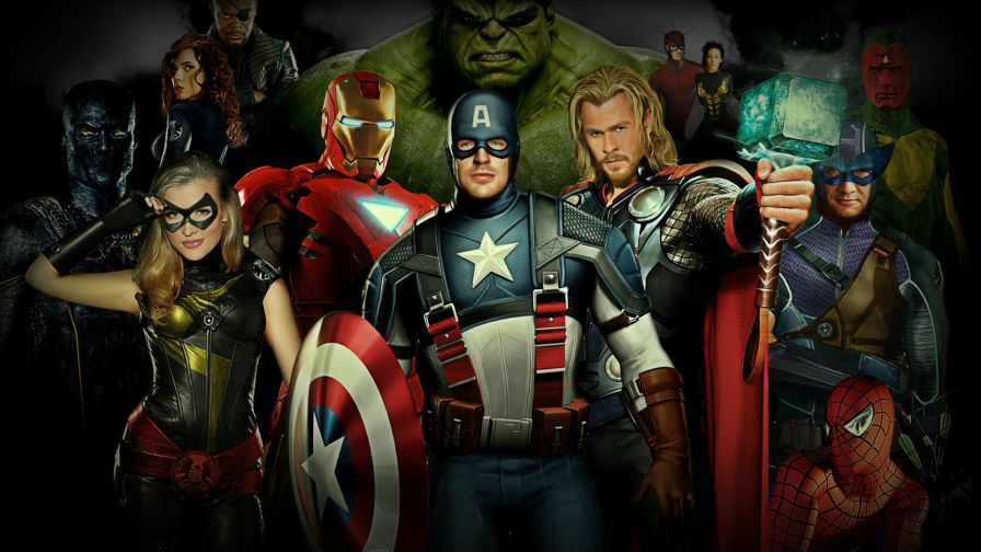 Avengers 2 Full Hd Wallpaper For Desktop And Mobiles Wallpapersnet