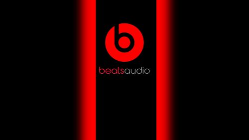 Beats Audio Logo Hd Wallpaper for Desktop and Mobiles