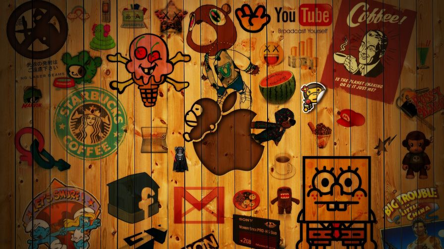 Brand Doodles Pop Culture Wallpaper for Desktop and Mobiles
