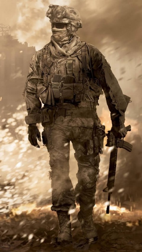 Call of Duty Modern Warfare 2 Wallpaper for Desktop and Mobiles