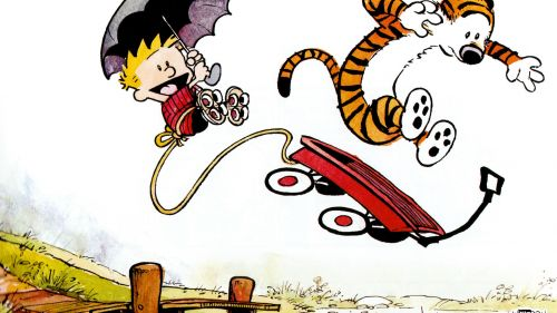 Calvin and Hobbes games HD Wallpaper