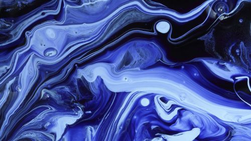 Chaotic liquid stains HD Wallpaper