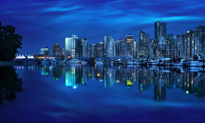 City Skyline Wallpaper for Desktop and Mobiles