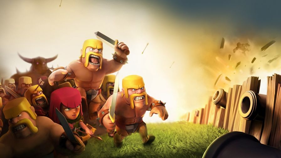 clash of clans coc wizard 3d wallpaper for desktop and mobiles
