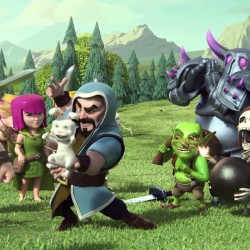 Clash of Clans Wizard Hd Wallpaper for Desktop and Mobiles
