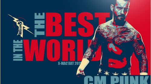 CM Punk HD Wallpaper