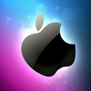 Colorful Apple Logo Wallpaper for Desktop and Mobiles