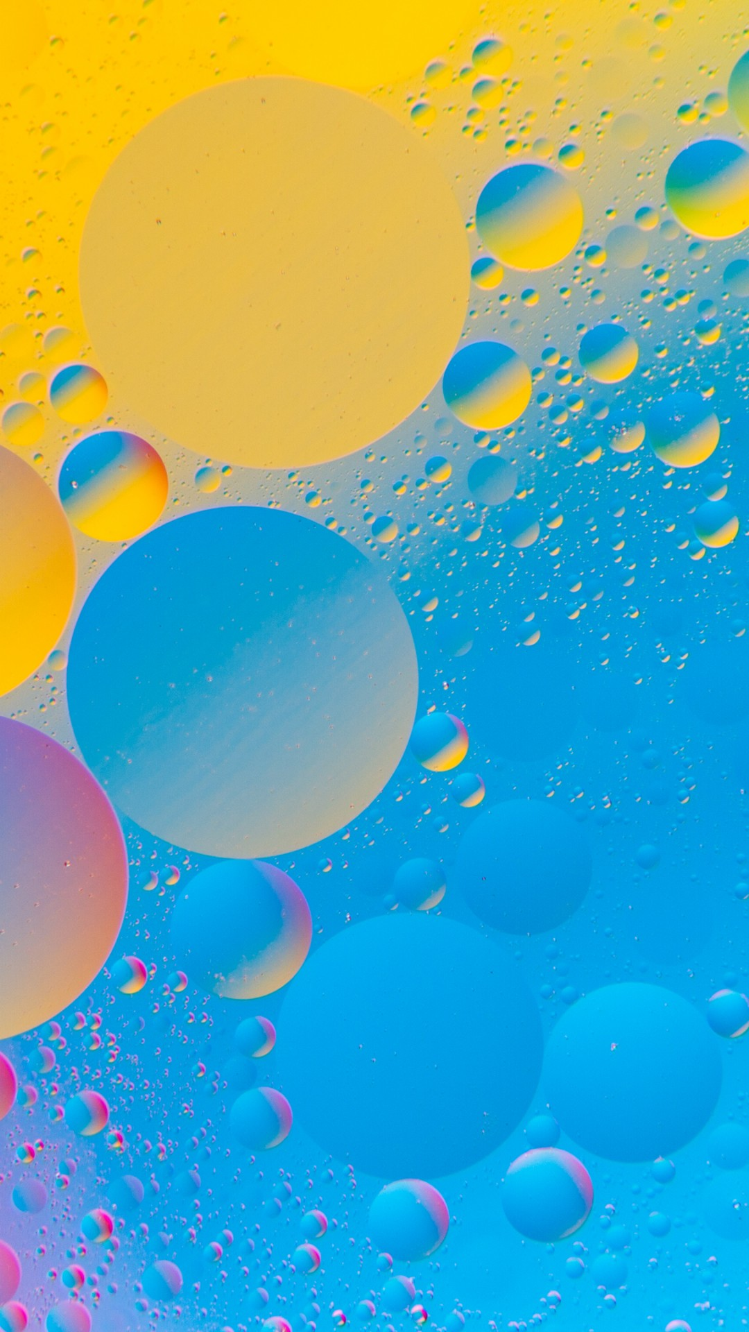 Colourful Bubbles 4K HD Abstract Wallpaper