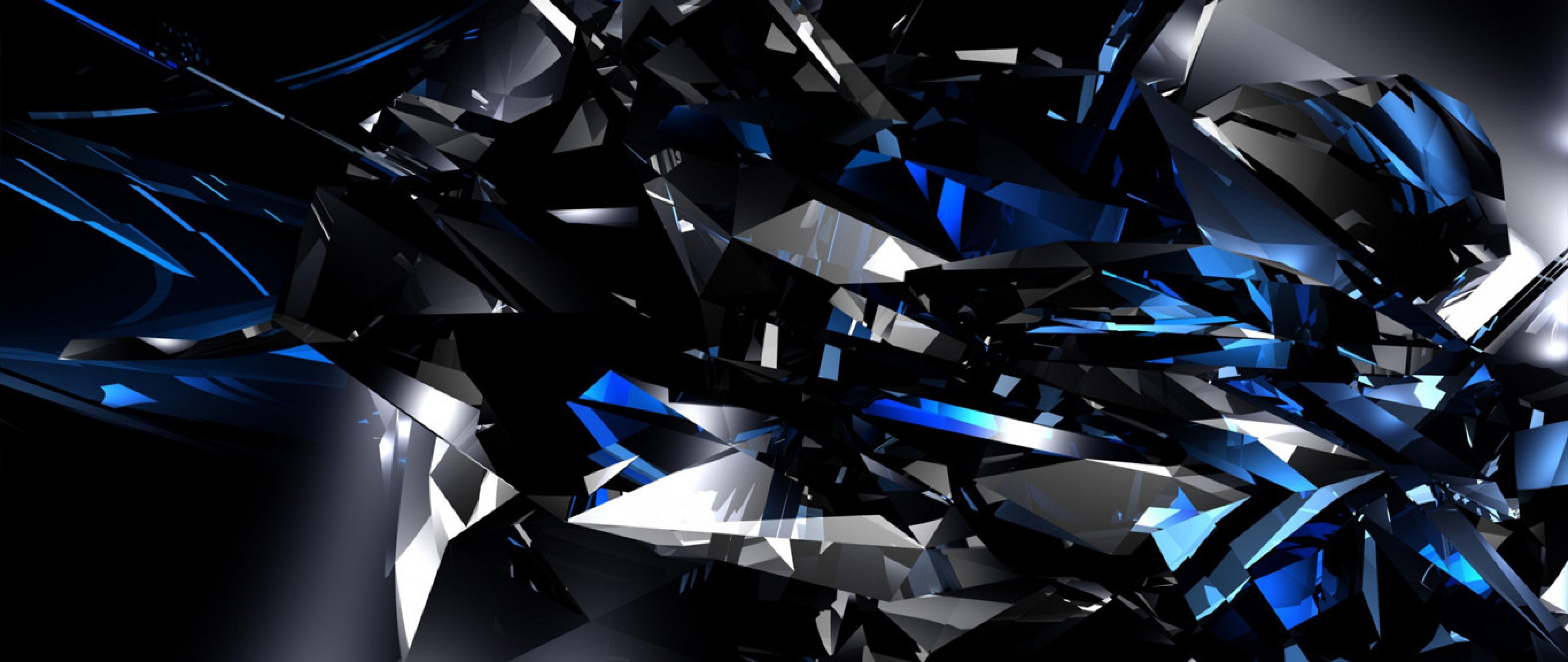Crystal Lake - Black And Blue HD Wallpaper 4K Ultra HD ...