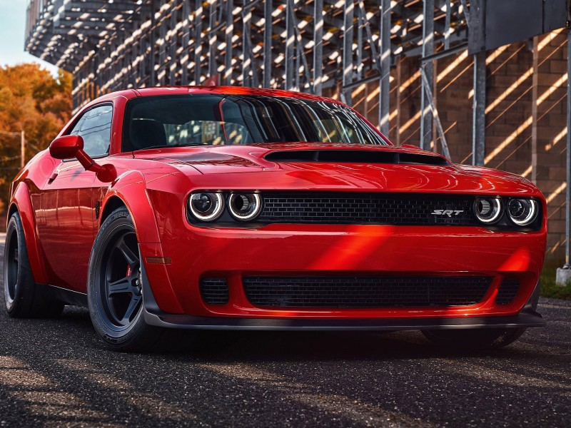 Dodge Demon Challenger Srt Car Wallpaper for Desktop and Mobiles