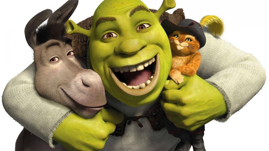Donkey Shrek Puss In Boots Wallpaper For Desktop And Mobiles