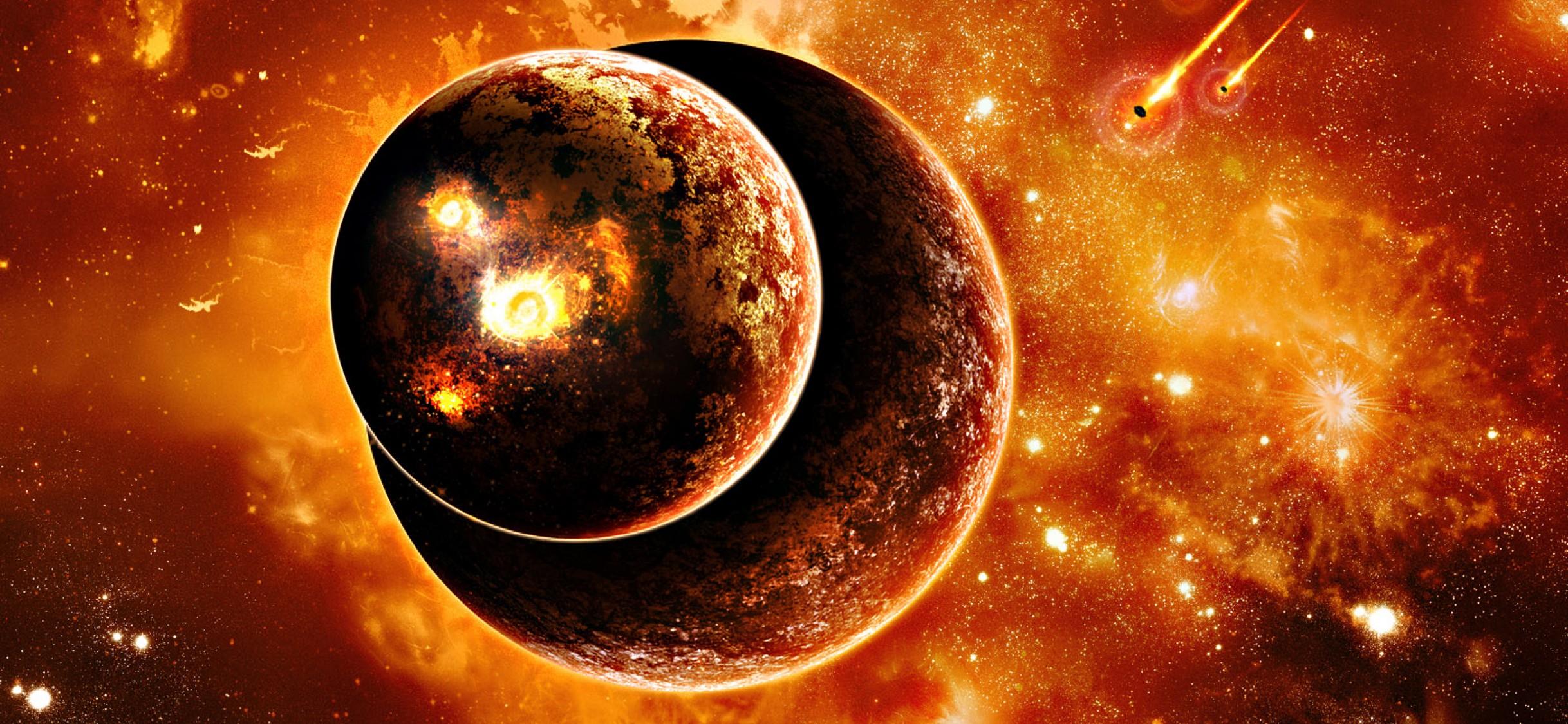 Download Burning Planets Live Wallpaper For Desktop And