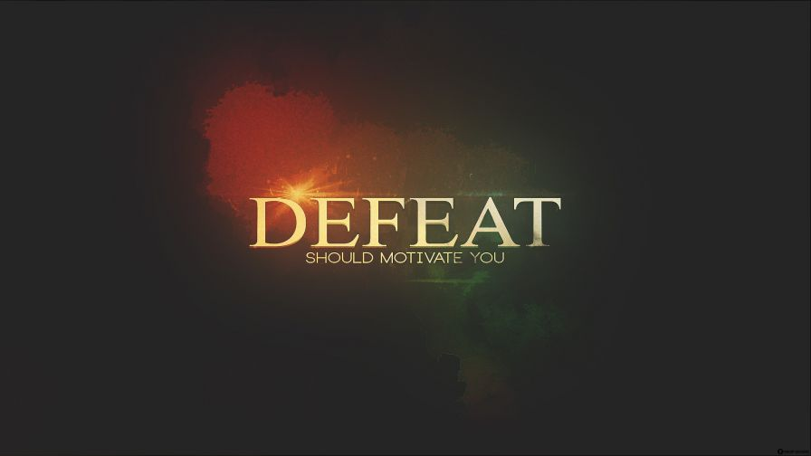 Download Defeat Should Motivate Hd Wallpaper for Desktop and Mobiles