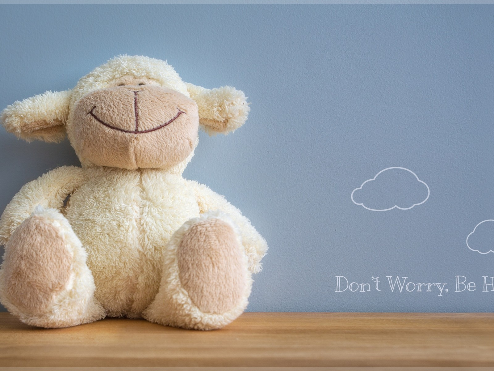 Download Don't Worry Be Happy Hd Wallpaper for Desktop and Mobiles