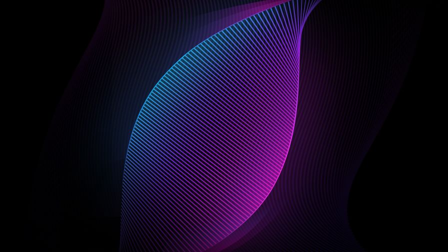 Download Free Cool & Retro Neon Pattern Wallpaper