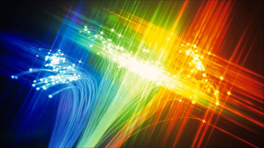 Download Free Fiber Optic Rainbow Wallpaper