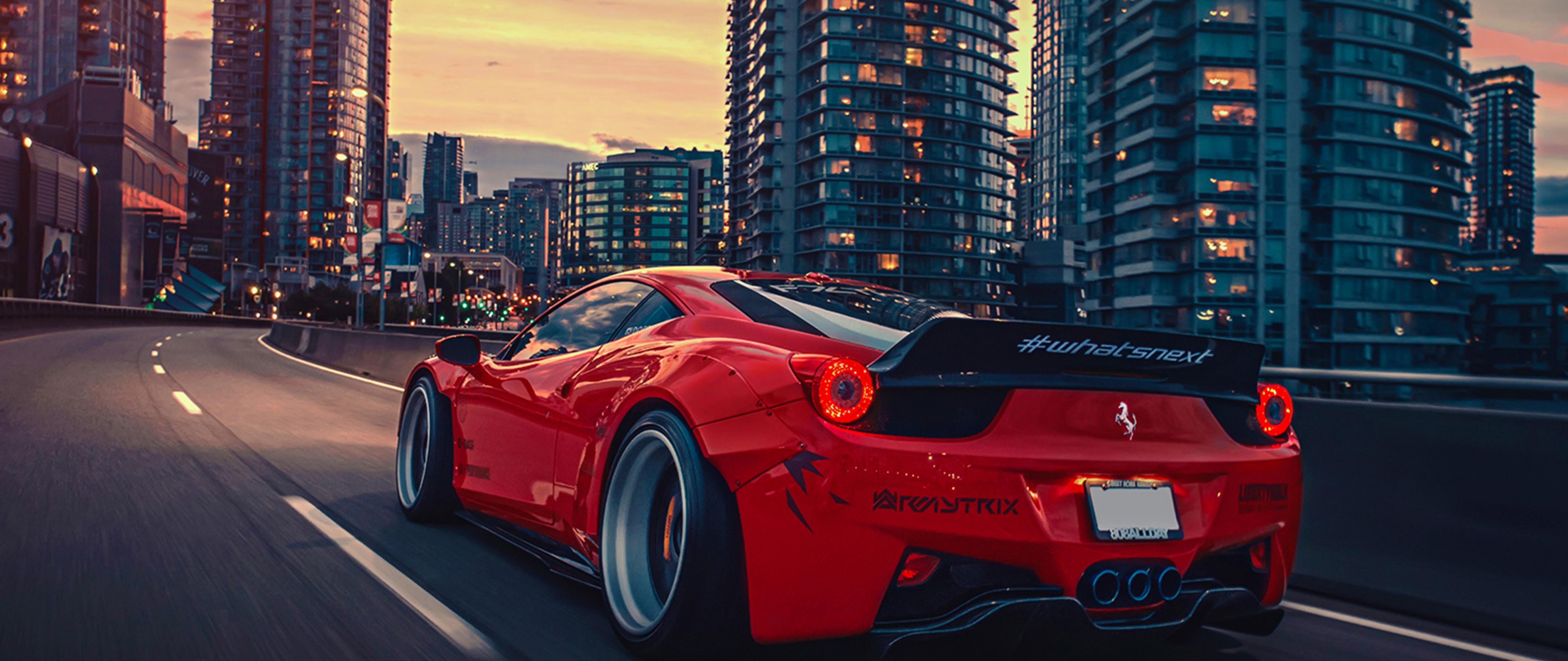 Download Liberty Walk HD 458 Ferrari Wallpaper For Desktop
