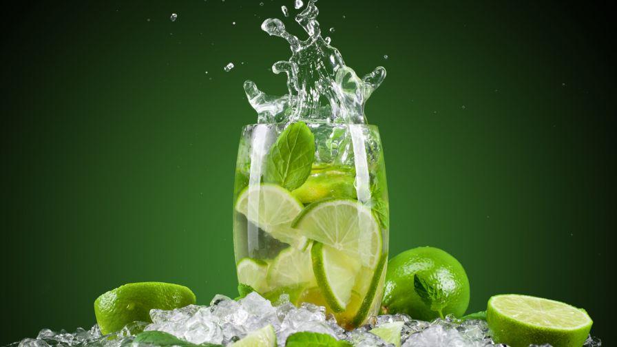Caipirinha cocktail wallpaper  Download Lime Mint Water Cocktails Wallpaper for Desktop and Mobiles ...
