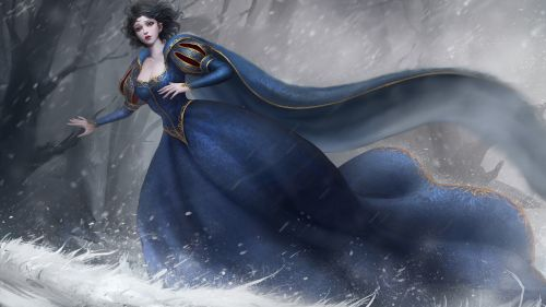 Download Snow White Wallpaper for Desktop and Mobiles