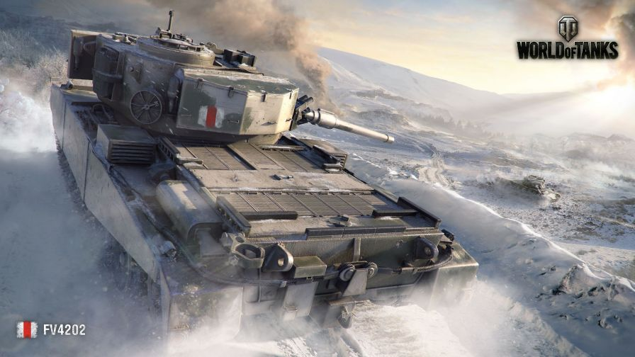 Download World of Tanks FV4202 Full Hd Wallpaper for Desktop and Mobiles