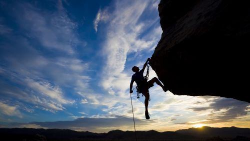 Extreme climber HD Wallpaper
