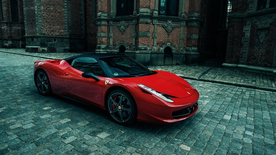Ferrari 458 Italia Car Wallpaper for Desktop and Mobiles