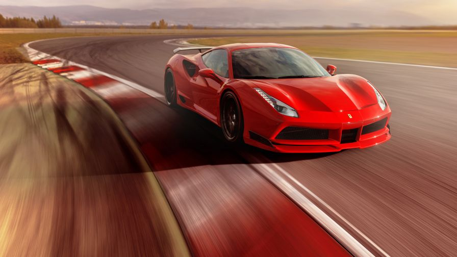 Ferrari F488 Gtb And 488 Spider Wallpaper for Desktop and Mobiles