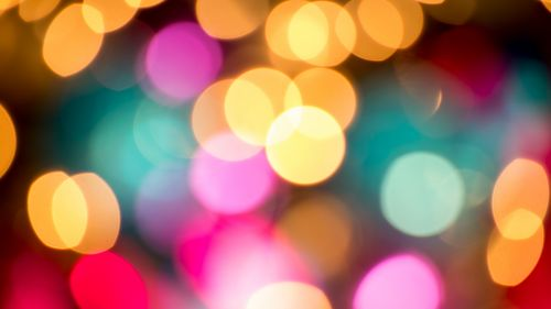 Festival colorful lights HD Wallpaper