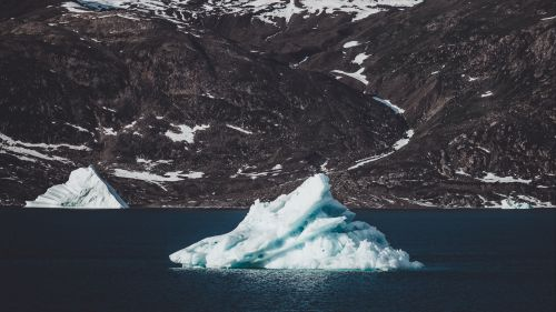 Foating iceberg HD Wallpaper