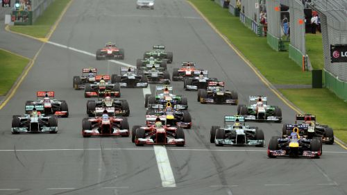 Formula 1 Grand Prix HD Wallpaper