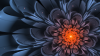 Fractal Flower Art Wallpaper for Desktop and Mobiles