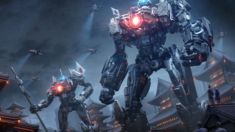 Free Download Pacific Rim Hd Wallpaper for Desktop and Mobiles