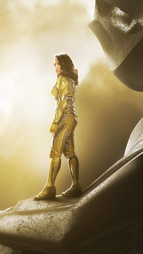 Free Download Yellow Power Ranger Wallpaper for Desktop and Mobiles