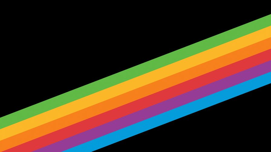 Free Heritage Rainbow Stripe Stock Wallpaper for Desktop and Mobiles