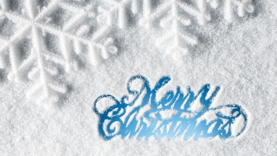 Free Merry Christmas Wallpaper for Desktop and Mobiles