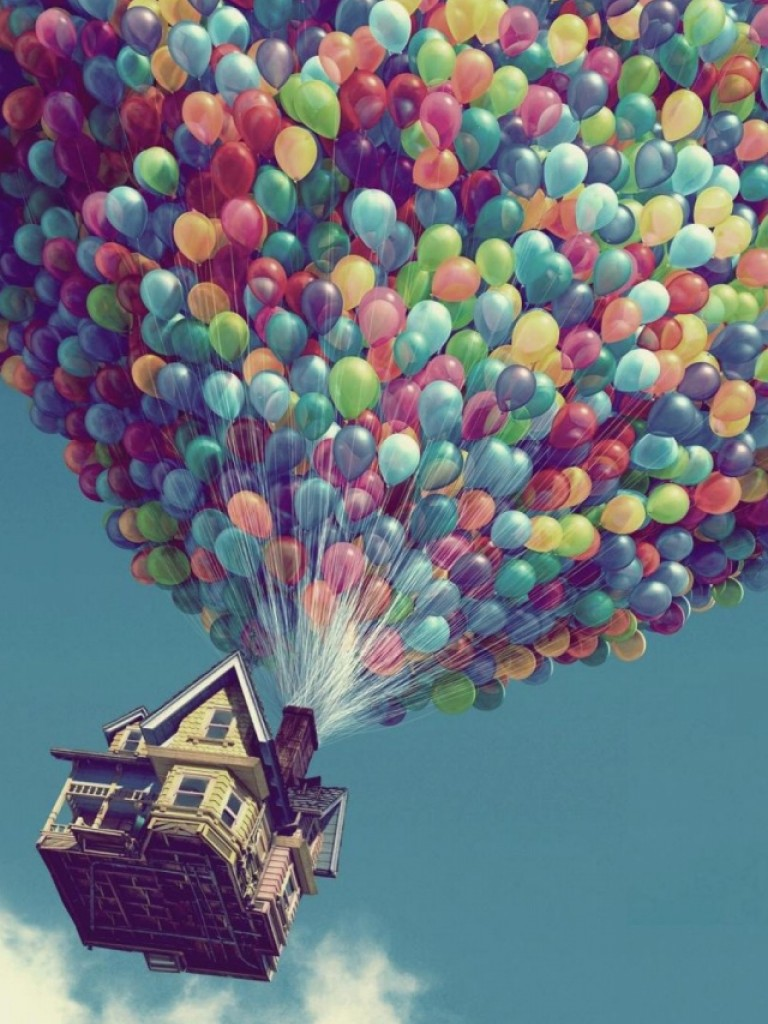 Free Pixar's Up Movie Hd Wallpaper for Desktop and Mobiles