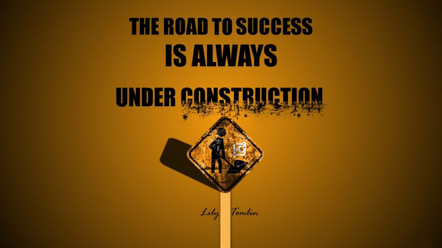 Free Road to Success Wallpaper for Desktop and Mobiles